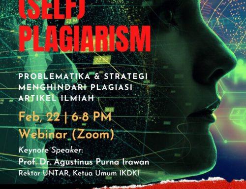 (SELF) PLAGIARISM: Problematika dan Strategi Menghindari Plagiasi Artikel Ilmiah